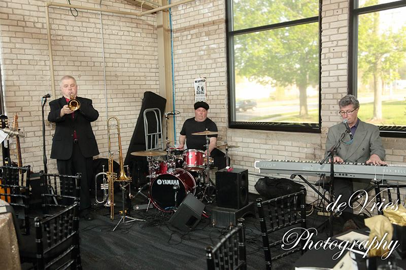 band playing at the celebration gala