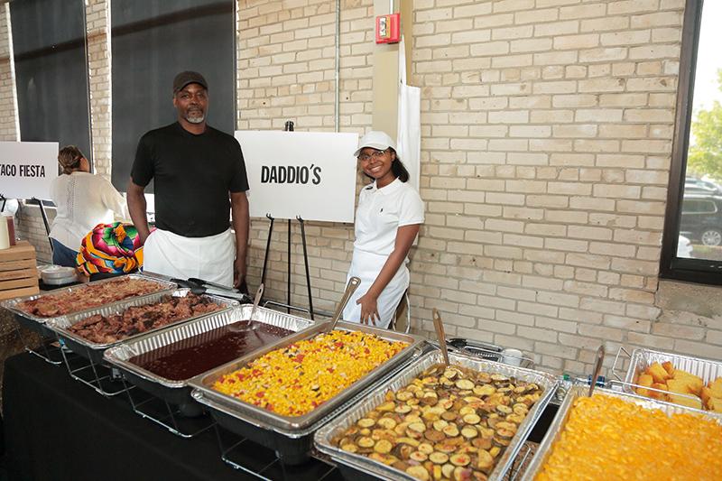Daddio's at the celebration gala