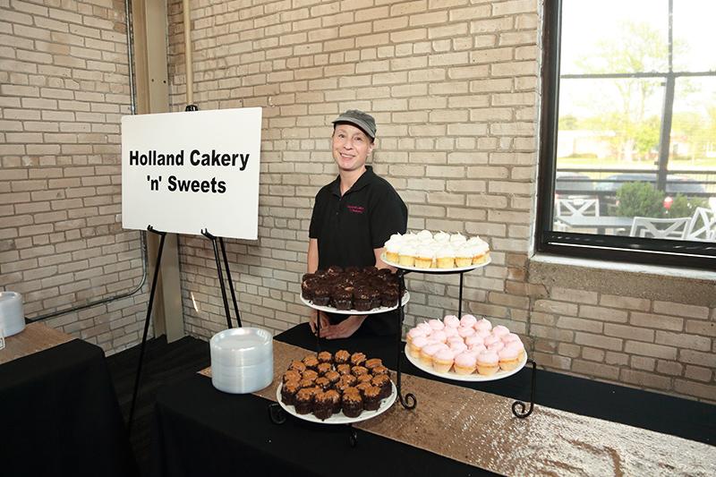 Holland Cakery at the celebration gala
